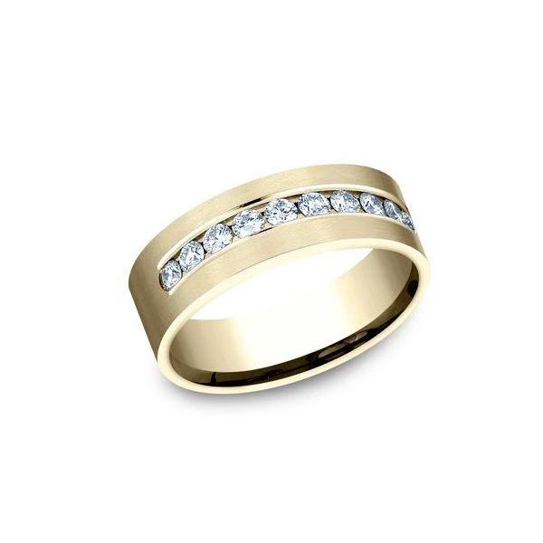 Men's Diamond band  Image 2 Mystique Jewelers Alexandria, VA