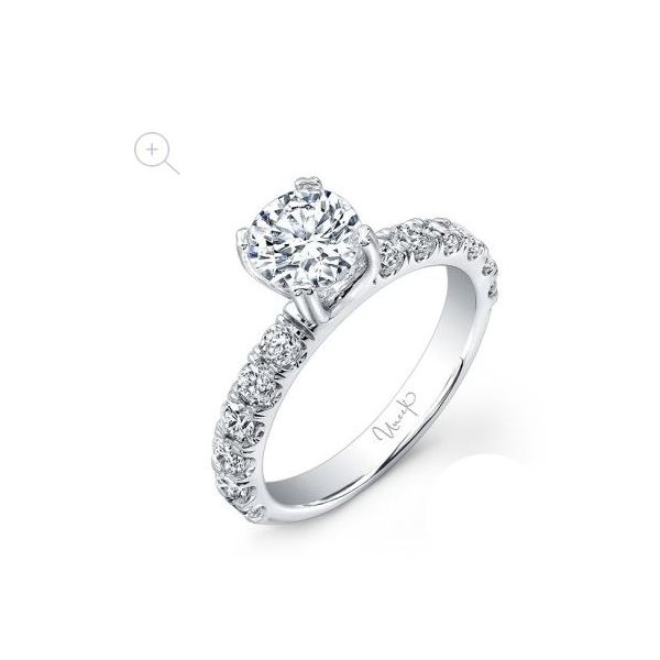 Uneek Classic Round Diamond Engagement Ring  Mystique Jewelers Alexandria, VA