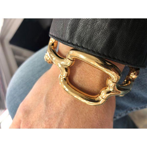 18K Yellow Gold Bracelet Image 2 Mystique Jewelers Alexandria, VA