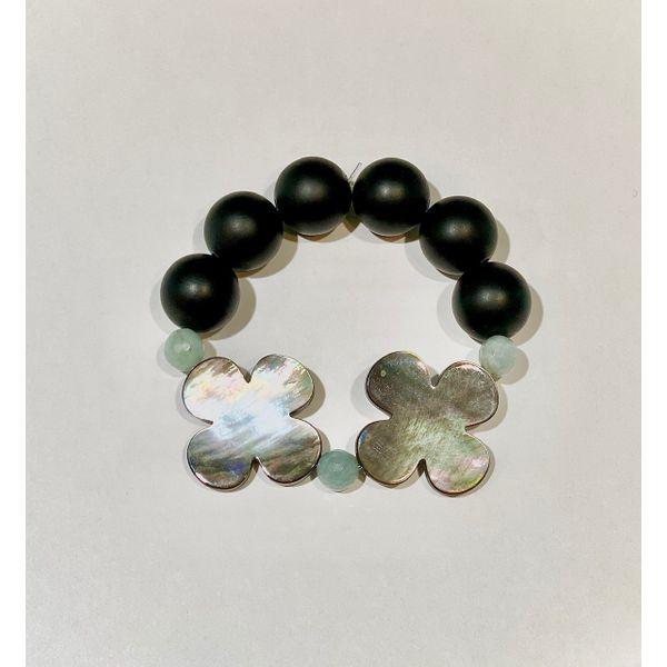 Black Onyx and MOP Bracelet Mystique Jewelers Alexandria, VA