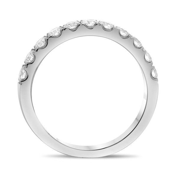 Classic White Diamond Band Image 3 Mystique Jewelers Alexandria, VA