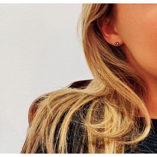 Like Behar diamond earrings Mystique Jewelers Alexandria, VA
