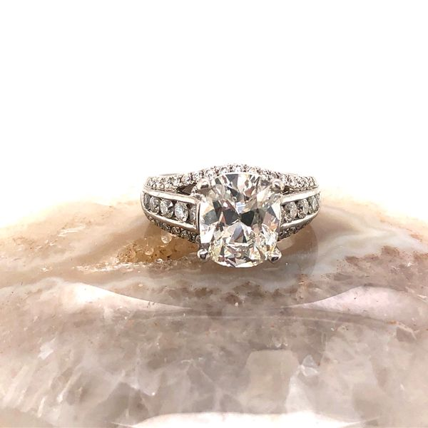 3 ct oval diamond ring  Mystique Jewelers Alexandria, VA