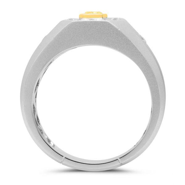 Men's Yellow Diamond Engagement Ring Image 2 Mystique Jewelers Alexandria, VA