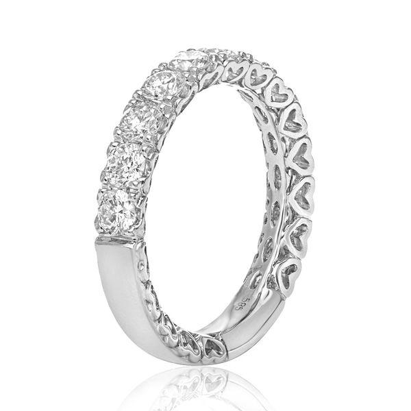 Diamonds and Hearts Band  Image 2 Mystique Jewelers Alexandria, VA