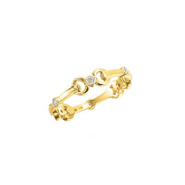Diamond and Gold Gallop Ring Mystique Jewelers Alexandria, VA