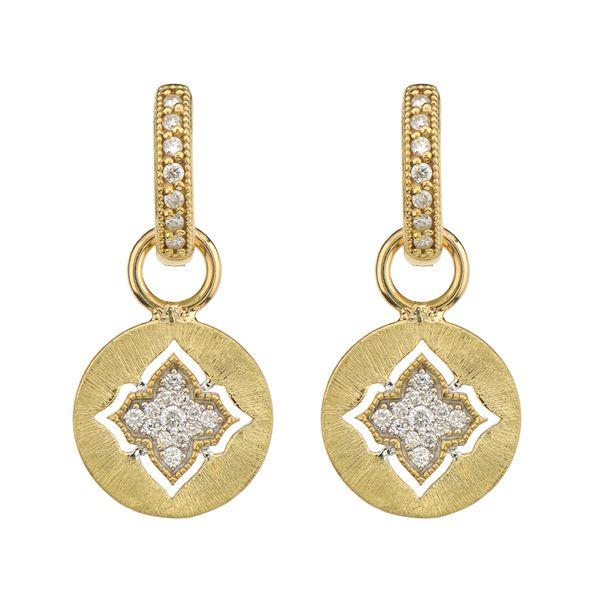 Moroccan Quatrefoil Disc Earring Charms Mystique Jewelers Alexandria, VA