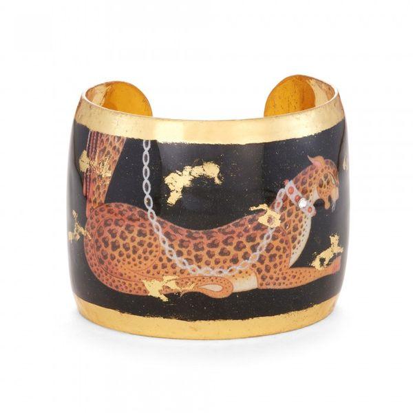 Erté Leopard Cuff Mystique Jewelers Alexandria, VA