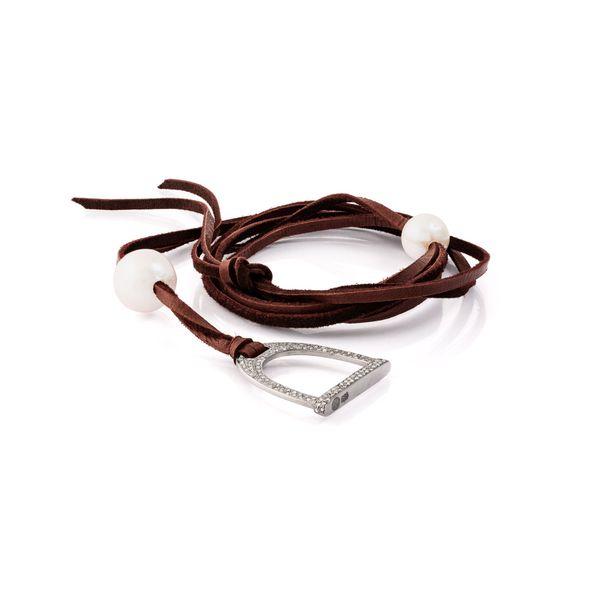 1.2ct Demure Stallion Stirrup Necklace Mystique Jewelers Alexandria, VA