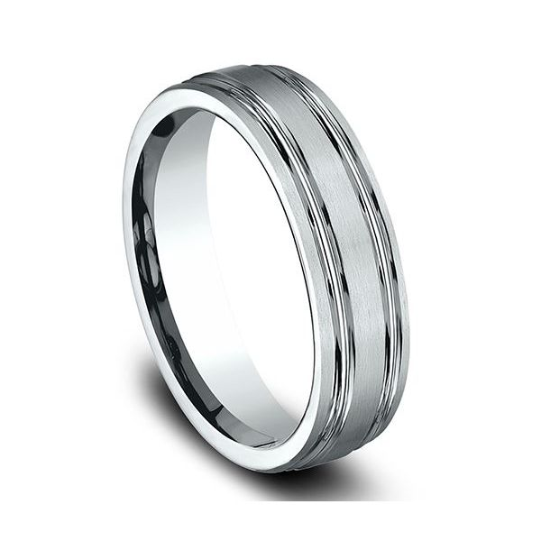 Comfort-Fit Design Wedding Band Image 4 Mystique Jewelers Alexandria, VA
