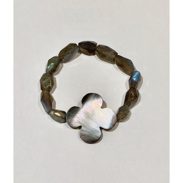 Grey MOP and Labradorite Bracelet Mystique Jewelers Alexandria, VA