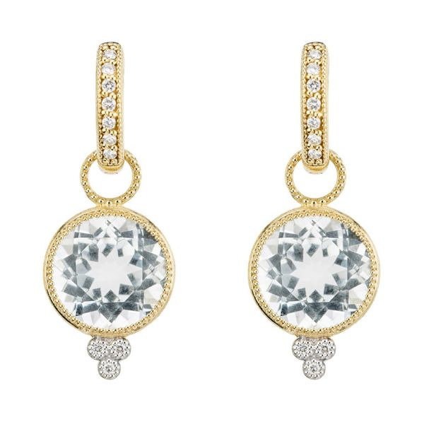 Provence Round Stone Earring Charms Mystique Jewelers Alexandria, VA