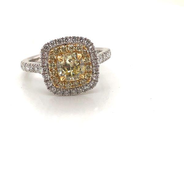 Canary yellow diamond ring  Mystique Jewelers Alexandria, VA