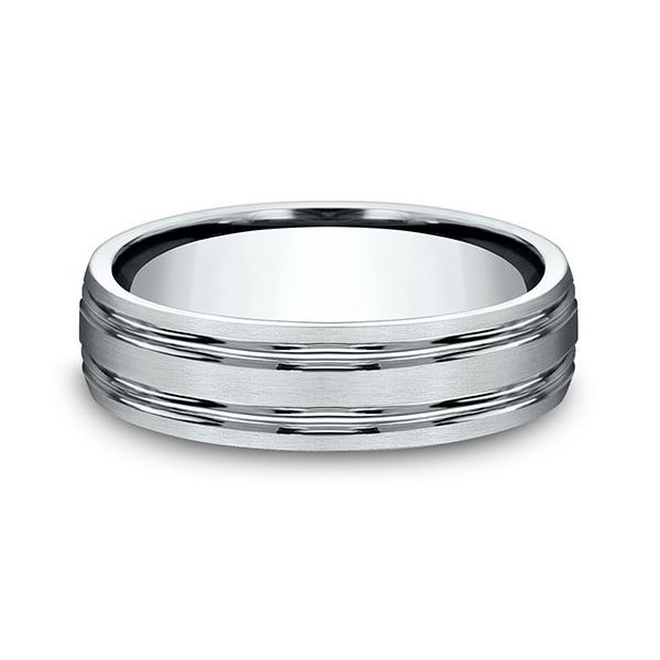 Comfort-Fit Design Wedding Band Image 2 Mystique Jewelers Alexandria, VA