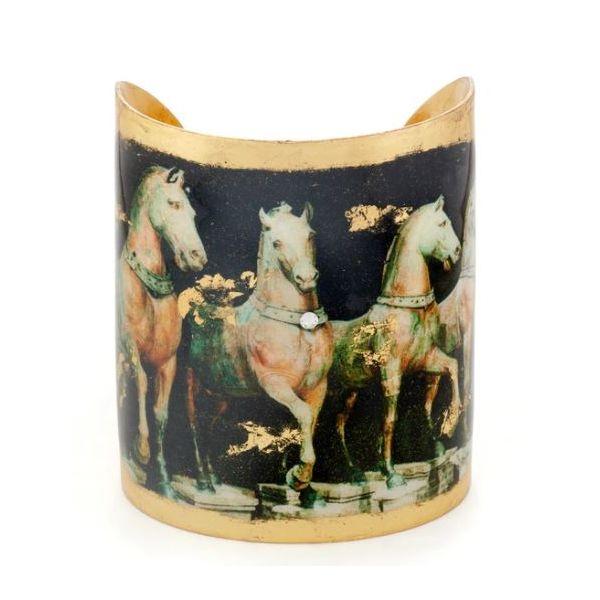 """CAVALLI HORSE CUFF - 3"""" Mystique Jewelers Alexandria, VA"""