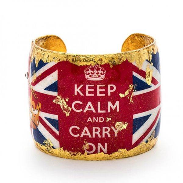 Keep Calm Cuff Mystique Jewelers Alexandria, VA