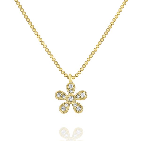 Diamond Daisy Pendant Mystique Jewelers Alexandria, VA
