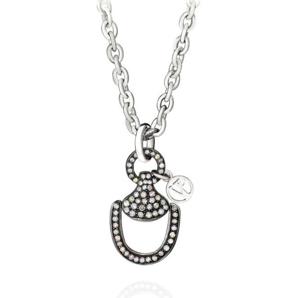 Churchill Downs Necklace   Full Diamond Mystique Jewelers Alexandria, VA