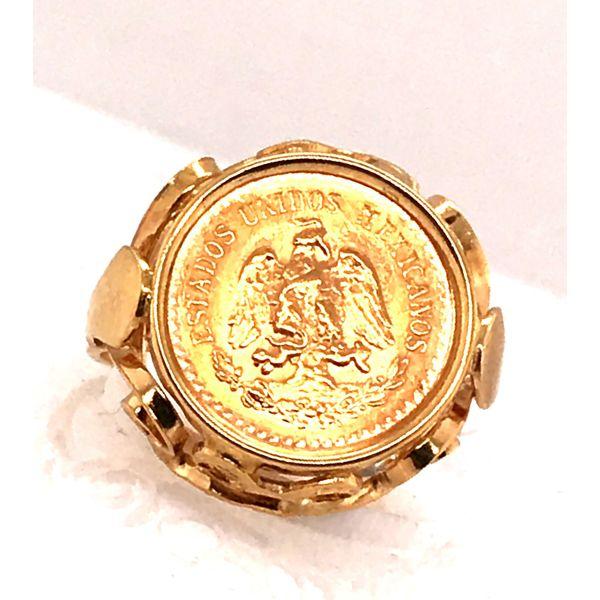 5 Peso Coin Ring Mystique Jewelers Alexandria, VA