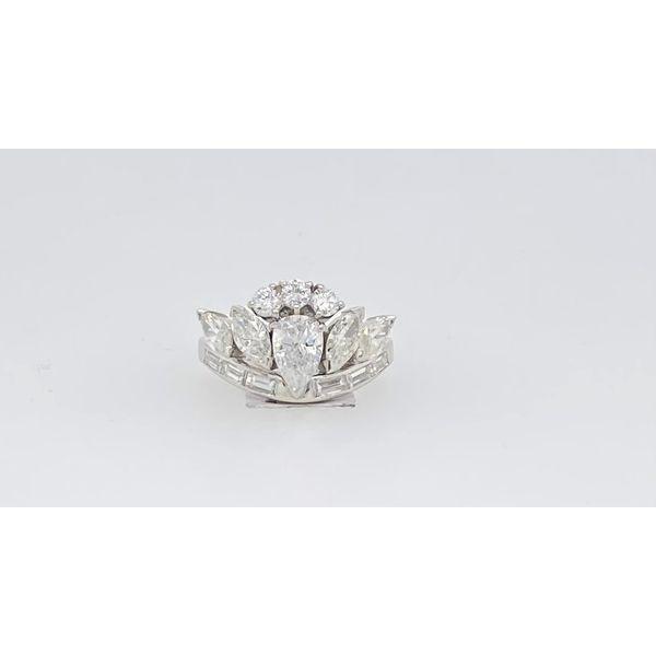 Platinum Diamond Ring Mystique Jewelers Alexandria, VA