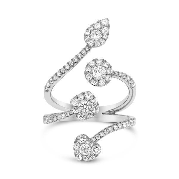 White Gold Diamond Wrap Around Ring Mystique Jewelers Alexandria, VA