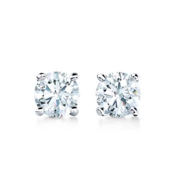Diamond earrings 0.75 carat studs  Mystique Jewelers Alexandria, VA