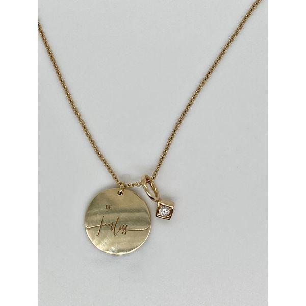 Be Fearless Charm & Diamond Charm Mystique Jewelers Alexandria, VA