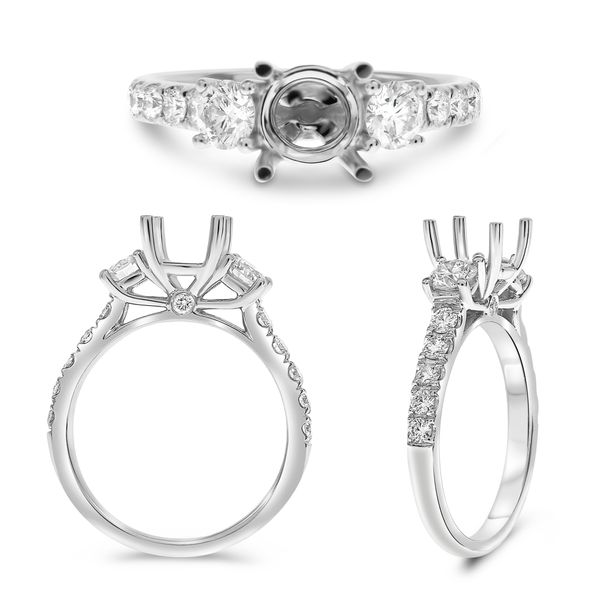 Diamond 3 stone ring  Mystique Jewelers Alexandria, VA