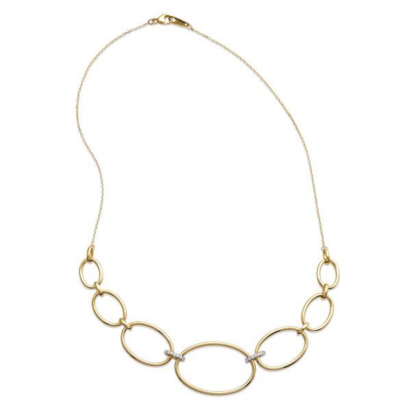 Oval link necklace  Mystique Jewelers Alexandria, VA
