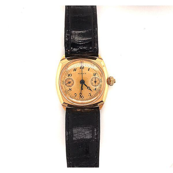 WWII Era Gold Oyster Rolex  Mystique Jewelers Alexandria, VA