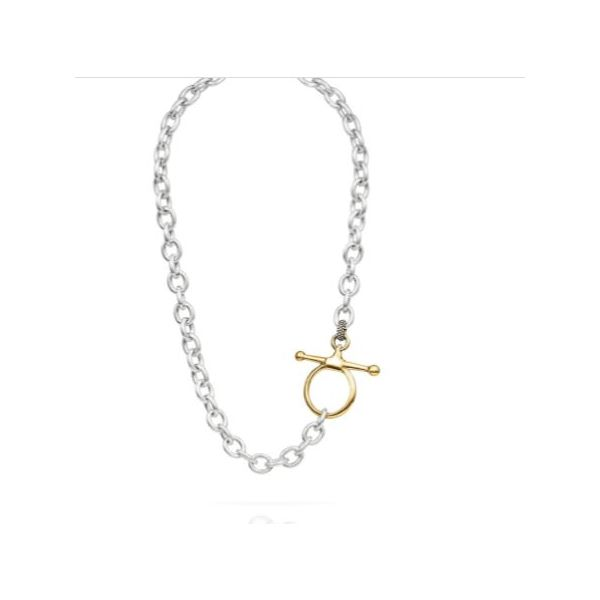 Fulmer Bit Chain Necklace   Gold Mystique Jewelers Alexandria, VA