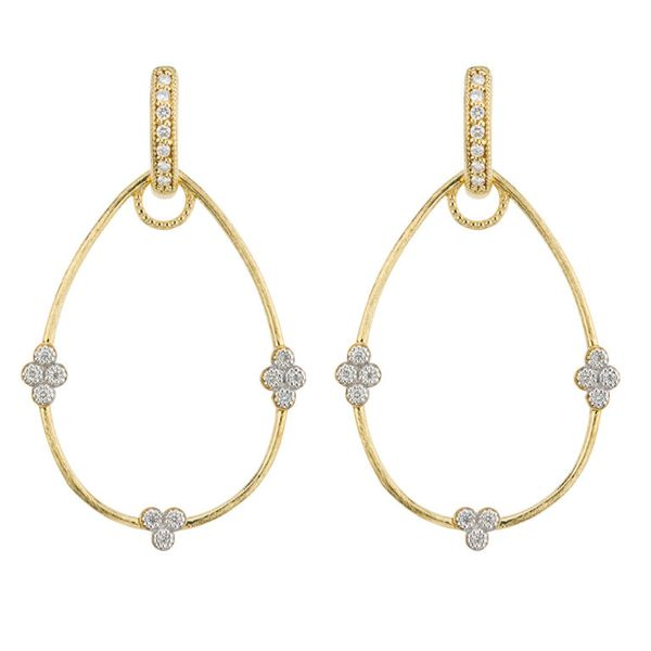 Simple Provence Pear Earring Charm Frames Mystique Jewelers Alexandria, VA