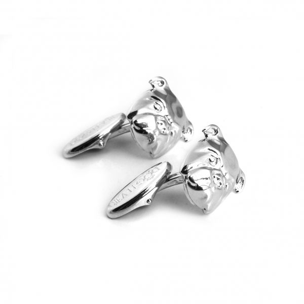 Dog Fever Bull Dog Cuff Links Mystique Jewelers Alexandria, VA