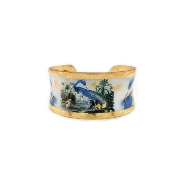 Blue Heron Cuff  Mystique Jewelers Alexandria, VA