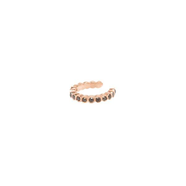 14K Bezel Black Diamond Ear Cuff Mystique Jewelers Alexandria, VA
