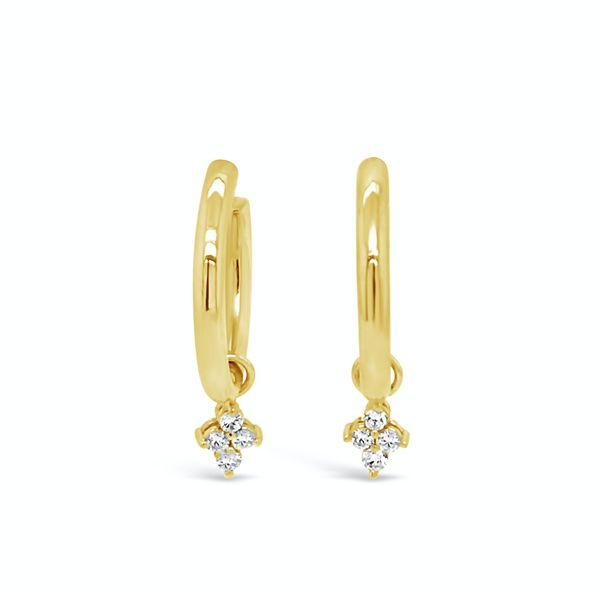 18ky Gold hoops  Mystique Jewelers Alexandria, VA