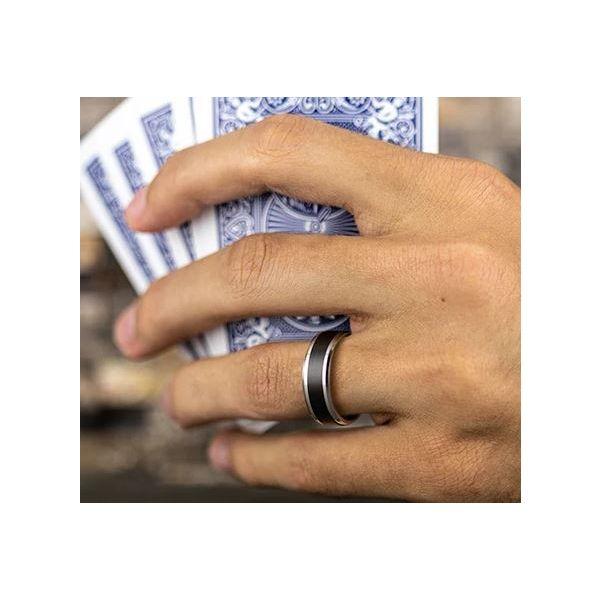 7mm and black titanium band Image 3 Mystique Jewelers Alexandria, VA