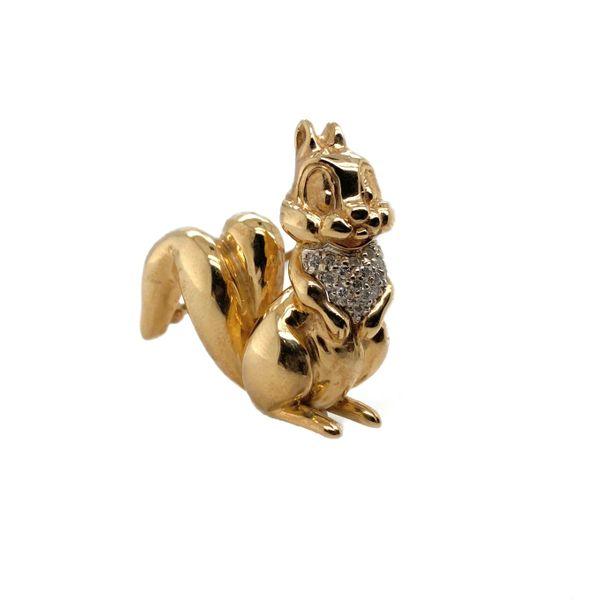 Chipmunk Brooch Mystique Jewelers Alexandria, VA