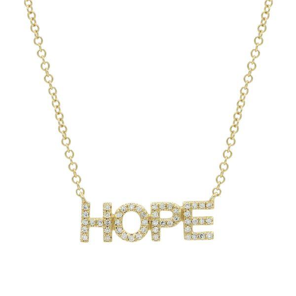 DIAMOND HOPE NECKLACE Mystique Jewelers Alexandria, VA