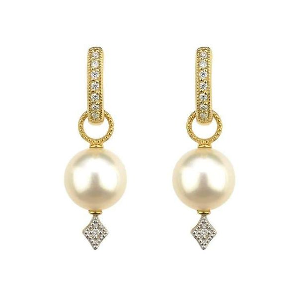 Large Lisse Pearl Earring Charms Mystique Jewelers Alexandria, VA