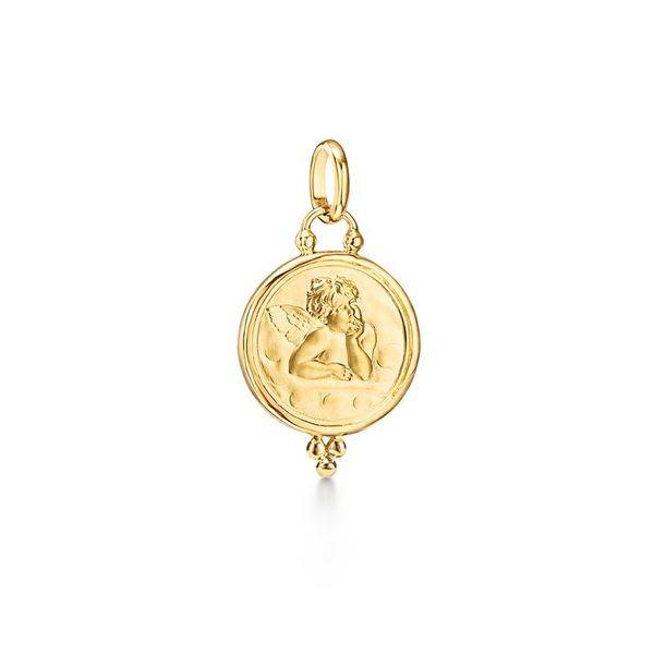 18K Angel Pendant Mystique Jewelers Alexandria, VA