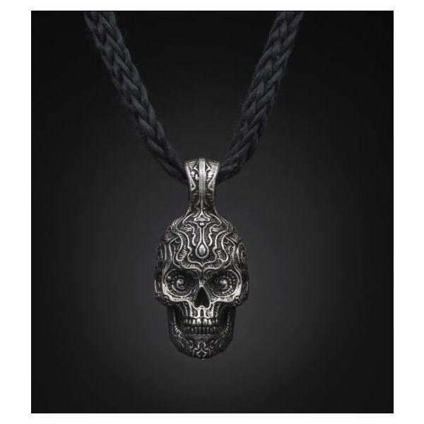 Cristobal Skull Necklace Mystique Jewelers Alexandria, VA