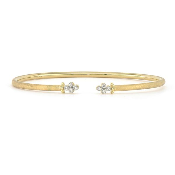 Provence Open Diamond Quad Flexible Bangle Mystique Jewelers Alexandria, VA