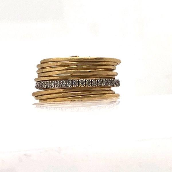 14kt Multi Band Diamond Ring Mystique Jewelers Alexandria, VA