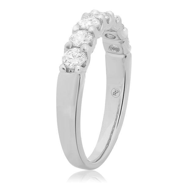 Seven Stone Diamond Band  Image 3 Mystique Jewelers Alexandria, VA