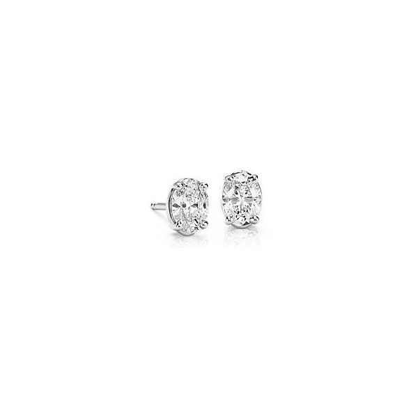 .61ct Oval Diamond Stud Earrings Mystique Jewelers Alexandria, VA