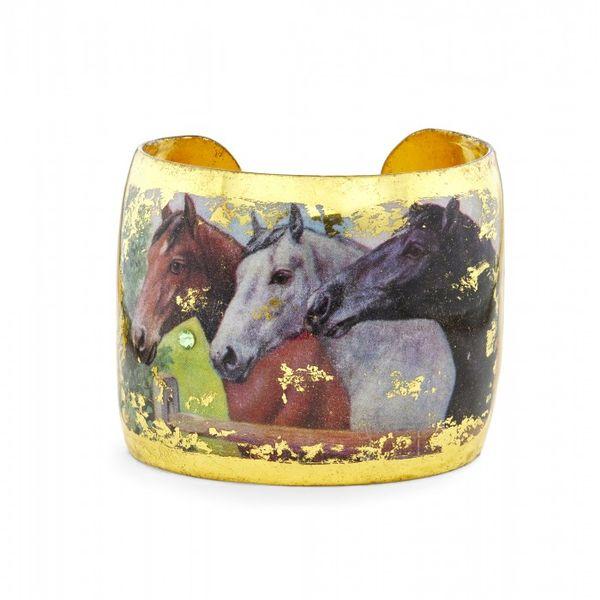 Three Horses Cuff Mystique Jewelers Alexandria, VA