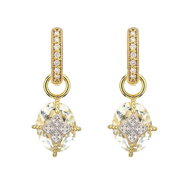Lisse Oval Stone Lacey Kite Earring Charms Mystique Jewelers Alexandria, VA