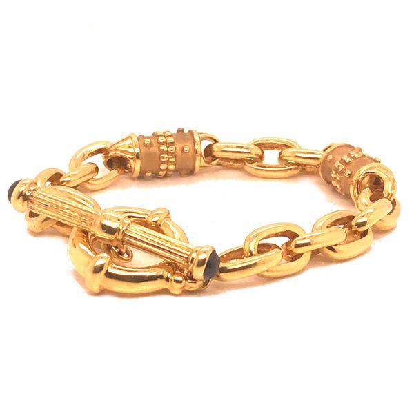 Gold Toggle Bracelet   Image 2 Mystique Jewelers Alexandria, VA