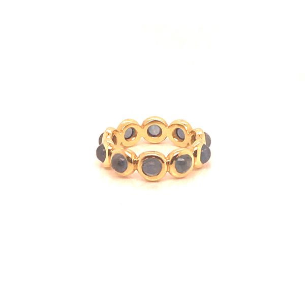 Cabochon Sapphire Ring Mystique Jewelers Alexandria, VA